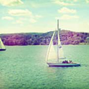 A Summer Sailing Adventure Art Print