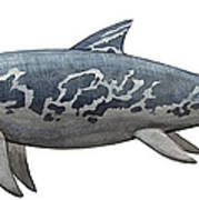 A Temnodontosaurus Burgundiae Art Print