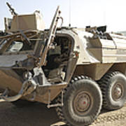A Tpz Fuchs Armored Personnel Carrier Art Print