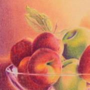 A Trip To The Orchard Art Print by Elizabeth Dobbs