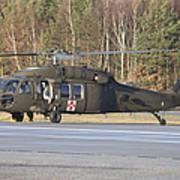 A U.s. Army Uh-60l Blackhawk Art Print