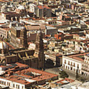A View Of The Historic Center Art Print