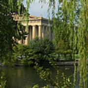 A View Of The Parthenon 3 Art Print