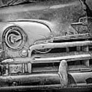 A Vintage Junk Plymouth Auto Art Print