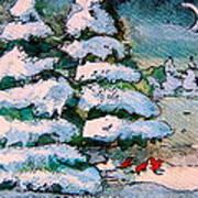 A Winter Feast Art Print