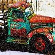 A Winter Near Taos Art Print