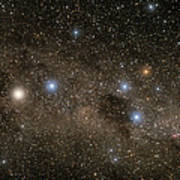 Ab Centauri Stars In The Southern Cross Art Print