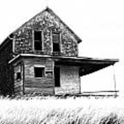 Abandoned And Alone 2 Art Print