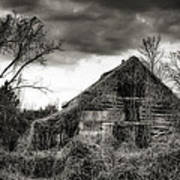 Abandoned Barn Art Print