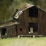 Abandoned Barn Art Print by Dale Stillman
