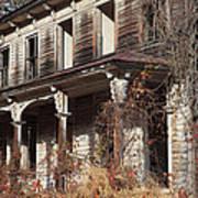 Abandoned Dilapidated Homestead Art Print