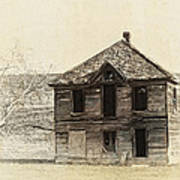 Abandoned Homestead - Okanogan Washington Art Print