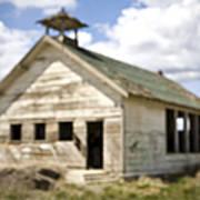 Abandoned Rural School House Art Print