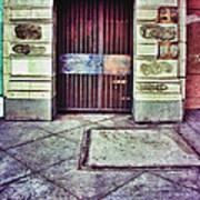 Abandoned Urban Building Art Print