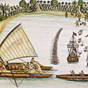 Abel Tasman Expedition 1643 Art Print