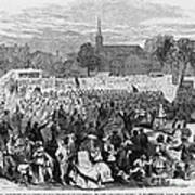 Abolition Of Slavery Print by Photo Researchers