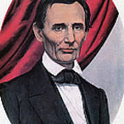 Abraham Lincoln, Republican Candidate Art Print by Photo Researchers