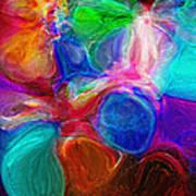 Abstract - Amoeba Art Print by Steve Ohlsen