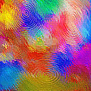 Abstract - Ripples Art Print by Steve Ohlsen