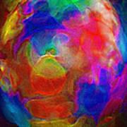 Abstract - The Egg Art Print by Steve Ohlsen