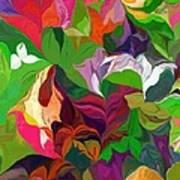 Abstract 090912 Art Print