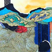 Abstract 2011 No.2  Art Print by Kathy Braud