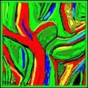 Abstract 421 Art Print