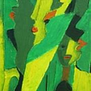 Abstract 582 Art Print