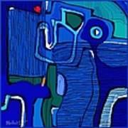 Abstract 791 Art Print