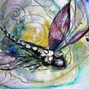 Abstract Dragonfly 11 Art Print