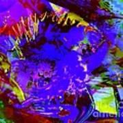 Abstract Dreams Art Print by Doris Wood