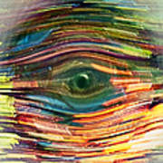 Abstract Eye Art Print