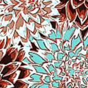 Abstract Flower 17 Art Print
