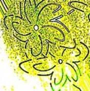 Abstract Fusion 107 Art Print