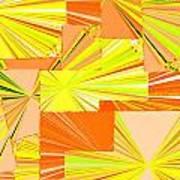 Abstract Fusion 14 Art Print