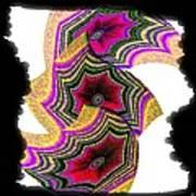 Abstract Fusion 154 Art Print