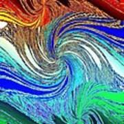 Abstract Fusion 159 Art Print