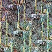 Abstract Fusion 3 Art Print