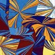 Abstract Fusion 34 Art Print