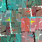 Abstract Fusion 39 Art Print