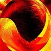 Abstract Fusion 40 Art Print
