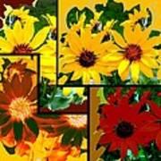 Abstract Fusion 99 Art Print