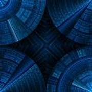 Abstract Geometric Background  Art Print