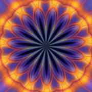 Abstract Kaleidoscope Art Print