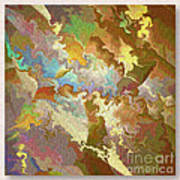 Abstract Puzzle Art Print by Deborah Benoit