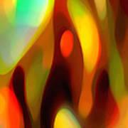 Abstract Rising Up Art Print
