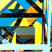 Abstract Sine L 15 Art Print