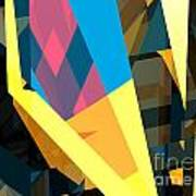 Abstract Sine L 16 Art Print