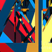 Abstract Sine L 19 Art Print