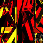 Abstract Sine L 20 Art Print